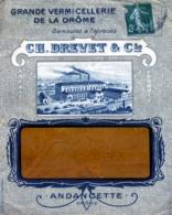 ANDANCETTE , Gde Vermicellerie De La Drome C. Drevet  / LSC De 1917 TB - 1877-1920: Période Semi Moderne