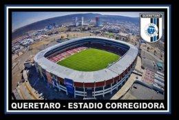 CARTE DE STADE . QUERETARO  MEXIQUE  ESTADIO  CORREGIDORA  # CS. 341 - Voetbal