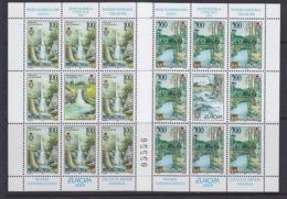 Europa Cept 2001 Bosnia/Herzegovina Serbia 2v Sheetlets ** Mnh (45123) ROCK BOTTOM PRICE - 2001