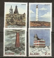 Aland 1992 Phares Lighthouses Set Complete MNH ** - Aland