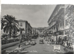 BORDIGHERA.CORSO ITALIA.VIAGGIATA-SI-1960-FG-MT.1991 - Imperia