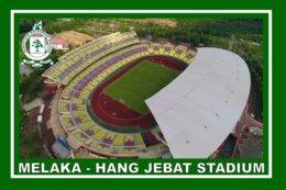CARTE DE STADE . MELAKA  MALAISIE  HANG  JEBAT  STADIUM# CS. 344 - Football