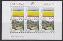 Europa Cept 1977 Portugal M/s ** Mnh (45125) - 1977