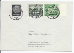 Dt.- Reich (003160) Brief Mit ZD MNR W136 Und 512 Gelaufen Am 4.2.1940 - Zusammendrucke