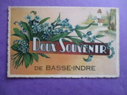 CPA 44 FANTAISIE DOUX SOUVENIR DE BASSE INDRE - Basse-Indre