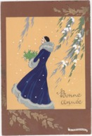 41871  -  Meschini   Femme -  Ars  Nova  Dipinta A Mano - Künstlerkarten