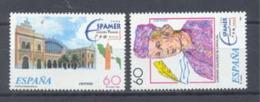 Año 1995 Nº3404/5 Espamer-96 - 1931-Hoy: 2ª República - ... Juan Carlos I