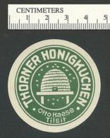 115-43 GERMANY Tilsit Thorner Honigkuchen Beehive Label MNG - Vignetten (Erinnophilie)