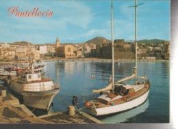 PANTELLERIA IL PORTO   PAN..VIAGGIATA-SI-1987-FG-MT.1999 - Trapani