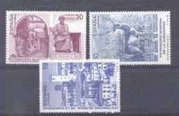 Año 1996 Nº 3453/5 Bienes Culturales - 1931-Hoy: 2ª República - ... Juan Carlos I