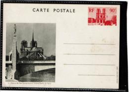 LCTN58/2 - FRANCE  CP VUES DE PARIS / STE GENEVIEVE NOIR N°1 - Cartes Postales Types Et TSC (avant 1995)