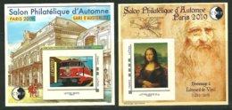 CNEP N° 81 Et 82 Salon Paris Automne 2019 Gare Austerlitz Et Jonconde - CNEP