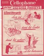 """""""CELLOPHANE"""" Pour La Défense Passive - Publicités"""