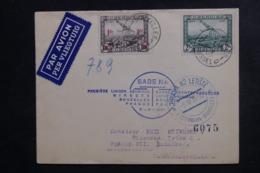 BELGIQUE - Enveloppe 1er Vol Direct Bruxelles / Prague En 1937, Affranchissement Plaisant - L 46291 - Cartas