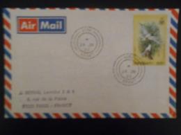Kiribati ,lettre De 1988 Pour Paris - Kiribati (1979-...)