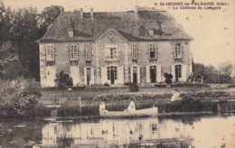 ST GEOIRE EN VALDAINE LE CHATEAU DE LONGPRA - Saint-Geoire-en-Valdaine