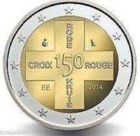 Belgie 2014  2 Euro Commemo  Rode Kruis - Croix Rouge     UNC Uit De Rol  UNC Du Rouleaux - Belgium