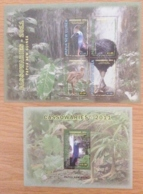 Papua New Guinea-2011 Cassowaries Bird 2 Minisheets MNH - Other