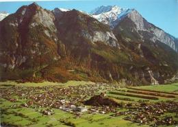 BALZERS Flugaufnahme Photo Swissair - Liechtenstein