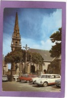 29 PLOUGUERNEAU L'Eglise Et Le Calvaire Automobiles Citroën DS Ami 6 2CV Panhard PL17 Renault 4L - Plouguerneau