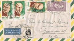 34555. Carta Aerea TERESOPOLIS (Brasil) 1968 To Germany - Brazilië