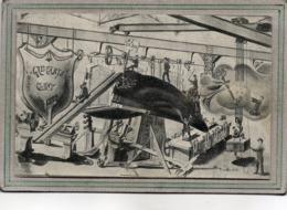 CPA - CLUNY (71) - Illustration Gadzarts, Terme Désignant Les élèves Et Ingénieurs Issus De L'Ecole D'Arts Et Métiers - - Cluny
