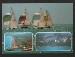 - ITALIE - Marina Di CARRARA - Spiaggia ( Voiliers , Vue Aérienne De La Plage , Vue Des Montagnes - Carrara