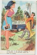 Humour :poisson :   La  Pêche  Par  Illustrateur    René  Caillé - Humor