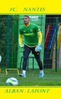 CARTE JOUEUR .FC. NANTES   FRANCEALBAN LAFONT   SAISON 2019-2020  #  JN.FC.  379 - Fútbol