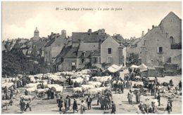 89 VEZELAY - Un Jour De Foire - Vezelay