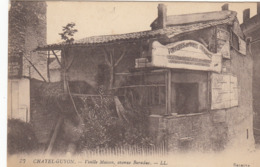 CHATEL GUYON  VUE DE LA GARE VIEILLE MAISON AVENUE BARADUC - Châtel-Guyon