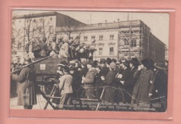 OLD POSTCARD - MILITARY - GERMANY - BERLIN 1920 - GEGENREVOLUTION - REVOLUTION - Heimat