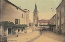 12 - AVEYRON - NANT - Place De L'Abbaye. - France