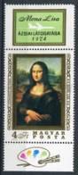 265517 HUNGARY 1974 Year MNH Stamp Mona Lisa Leonardo Da Vinci - Hungary