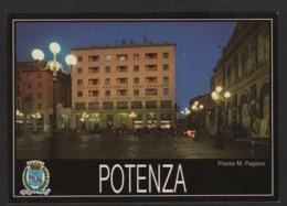 - ITALIE -POTENZA - Place Mario Pagano La Nuit - Potenza