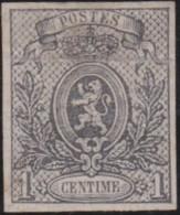 Belgie      .    OBP     .   22  (2 Scans)      .  (*)     .   Ongebruikt  Zonder Gom  .   /    .    Neuf Sans Gomme - 1866-1867 Blasón