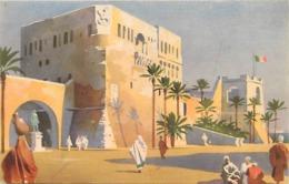 Pays Div- Ref U211- Libye -illustrateurs - Dessin Illustrateur -tripoli - Il Castello - - Libia