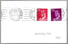 Rodillo REFERENDUM NACIONAL - DIA DE LA CONSTITUCION - 6 DE DICIEMBRE. Gerona 1978 - 1931-Hoy: 2ª República - ... Juan Carlos I