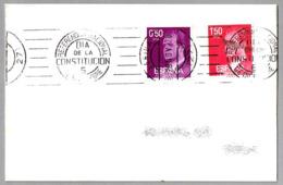 Rodillo REFERENDUM NACIONAL - DIA DE LA CONSTITUCION - 6 DE DICIEMBRE. Lerida 1978 - 1931-Hoy: 2ª República - ... Juan Carlos I