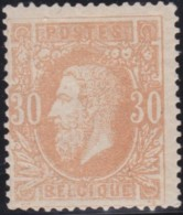 Belgie      .    OBP     .    30  (2 Scans)   .   **      .   Postfris   .   /    .    Neuf SANS Charniere - 1883 Leopold II
