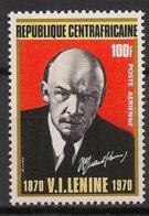 Centrafricaine - 1970 - Poste Aérienne PA N°Yv. 81 - Lénine - Neuf Luxe ** / MNH / Postfrisch - Zentralafrik. Republik