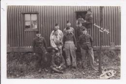 CARTE PHOTO MILITARIA Groupe De  Militaires Souvenir De Bitche 1926 - Personen