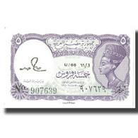Billet, Égypte, 5 Piastres, KM:182c, NEUF - Egypte