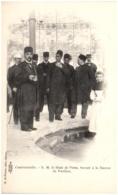 88 CONTREXEVILLE - S. M. Le Shah De Perse, Buvant à La Source Du Pavillon - France