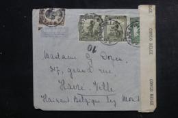 CONGO BELGE - Enveloppe De Stanleyville Pour La Belgique Par Avion En 1945 Avec Contrôle Postal - L 46305 - Congo Belge