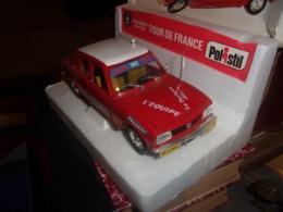 Polistil S47 S.47 Peugeot 504 GL Tour De France In Box 1:25 1971 SUPERBE ETAT / VINTAGE CYLISME - Oud Speelgoed