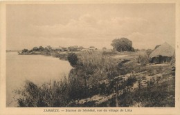 Pays Div- Ref U205- Zambie - Zambeze - Station De Sesheke , Vue Du Village De Litia  - - Zambie