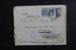 GRECE - Entier Postal De Athènes ( Hôtel Impérial ) Pour Berlin En 1941 Avec Contrôle Postal - L 46307 - Entiers Postaux