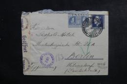 GRECE - Entier Postal De Athènes ( Hôtel Impérial ) Pour Berlin En 1941 Avec Contrôle Postal - L 46308 - Entiers Postaux