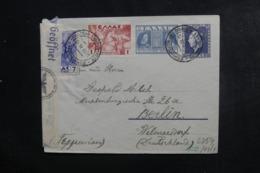 GRECE - Entier Postal + Compléments De Athènes ( Hôtel Impérial ) Pour Berlin En 1941 Avec Contrôle Postal - L 46309 - Entiers Postaux